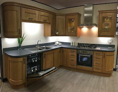 Shaker Oak Ex Display Kitchen