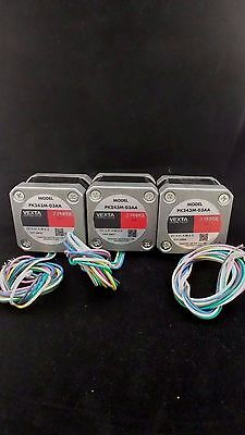 Lot of 3 PK243M-03AA 2-Phase 0.9° Step Motor Oriental Motor  *NEW* in Box