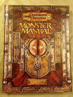 monster manual  3.5 dungeons and dragons