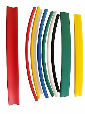 Various Sizes Lengths Colour Heat Shrink Tube Sleeving Car Wire Wrap Heat shrink