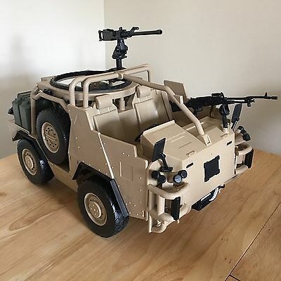 HM Armed Forces Military Army Soldier Armoured Car