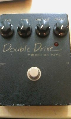 Tech 21 Double Drive Overdrive Effects Pedal