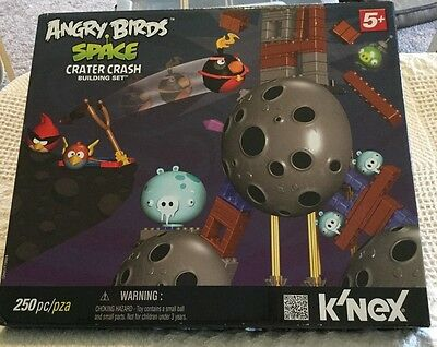 Brand New - Angry Birds Space Crater Crash Building Set