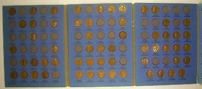 Wholesale Set of Lincoln Wheat Cents 1909-1940 in Used Whitman Folder (Set 8)