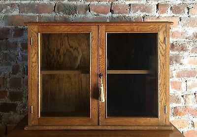 Beautiful Golden Oak Mid Century Bookcase Early 20th Century