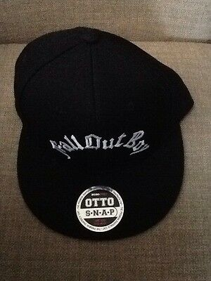 Fall Out Boy Tour VIP Snapback Hat rare NWOT