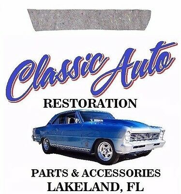 66-67 Chevelle Package Tray Insulation 66App