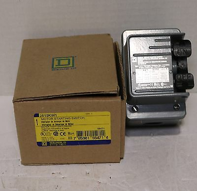 Brand New Square D 2510KW1 Motor Starting Switch In Original Box