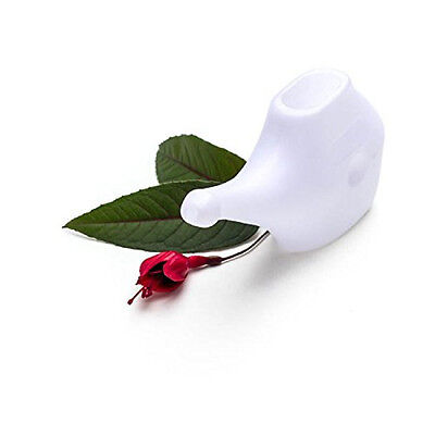 Lightweight Travel Neti Pot Nasal Cleansing Prevent Sinusitis Congested Nose