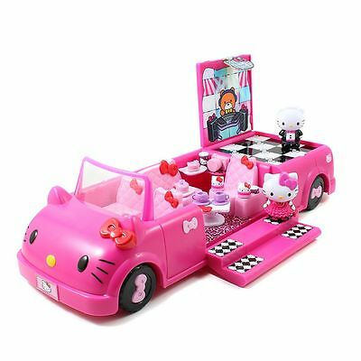 New in Box Hello Kitty Dance Party Limo Limousine Car Play set 15 pc + Pink