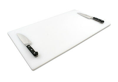 Commercial Extra Large Plastic Cutting Board 30 x 18 x 0.5
