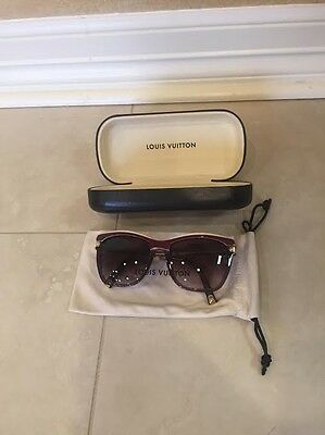 45aa9ff02ce LOUIS VUITTON OBSESSION Honey Speckled Acetate Frame Sunglasses ...