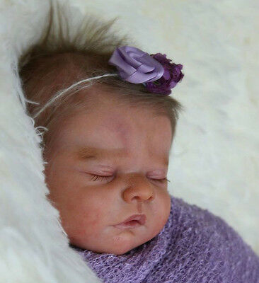"""New Reborn Baby Doll Kit Mia By Heike Kolpin @ Limited Edition 400 @ 17"""" @"""