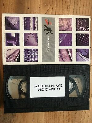 G-SHOCK Day In The City Skateboard VHS