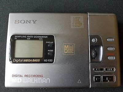 Sony MZ-R 30 Portable Mini Disc Player #112