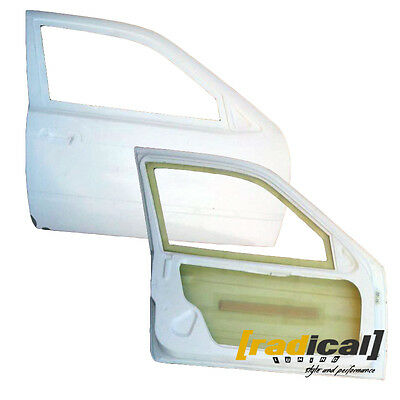 Pair of FRP Lightweight Doors with Frame for BMW E36 Compact Ti Hatchback drift