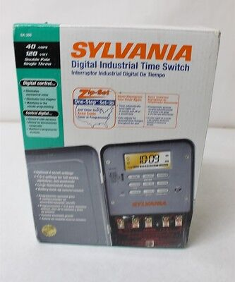 Sylvania Digital Industrial Time Switch SA306 New Free Shipping