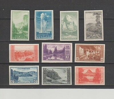"U.S. 1935 Special Printing, ""Farley's Follies"" #756-65 COMPLETE, 10 mNH VeryFine"