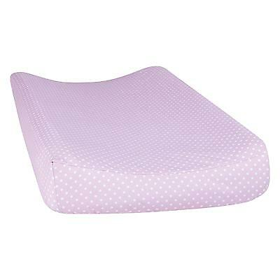 Changing Table Pad Cover Purple Baby Girls Nursery Standard 16 x 32 Inch New