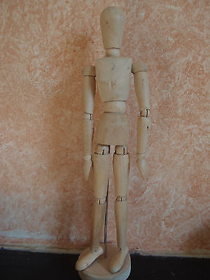 """12"""" Lay figure artist wood jointed mannequin model"""