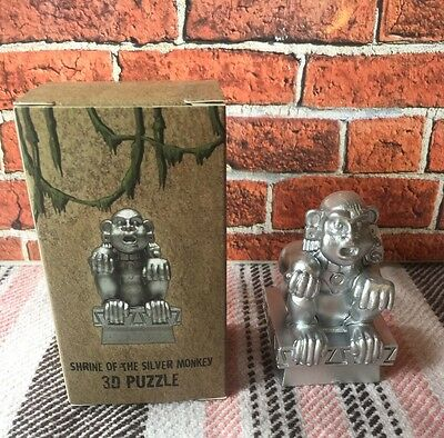 Legends of the Hidden Temple Shrine of the Silver Monkey 3D Puzzle Nick Box