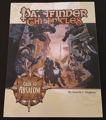 Pathfinder Chronicles GUIDE TO ABSALOM Paizo PZO9205 D&D 3.5 D20 OGL Dungeon NEW