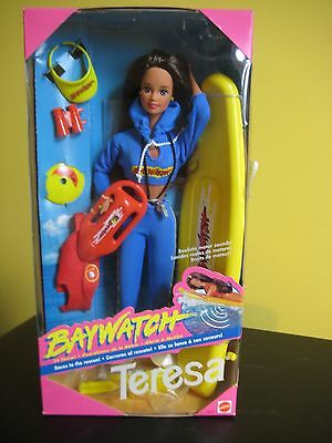 Barbie Doll BAYWATCH Teresa Mattel 1994 NEW IN BOX VERY RARE FIND