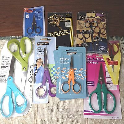 Scissors, Assorted Brands, Styles, Sizes, Colors, Uses and Prices All NEW