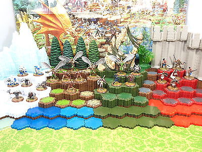 Heroscape Wave 9 Blackmoon's Siege - Complete Figures and Cards
