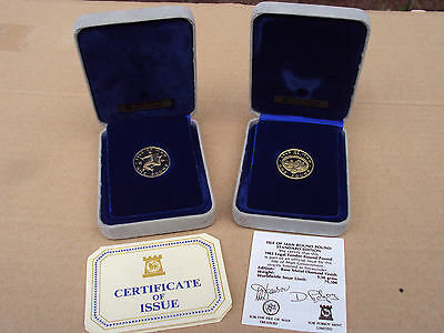 Isle of Man virenium proof £1 coin - choice of dates
