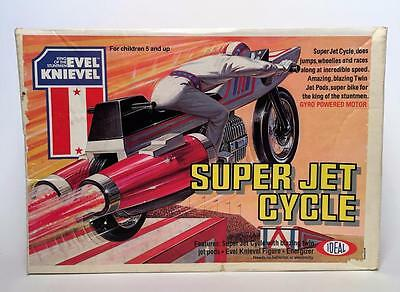 Ideal Toys  Evel Knievel Super Jet Cycle Sealed In Box Factory Fresh Old Stock!!