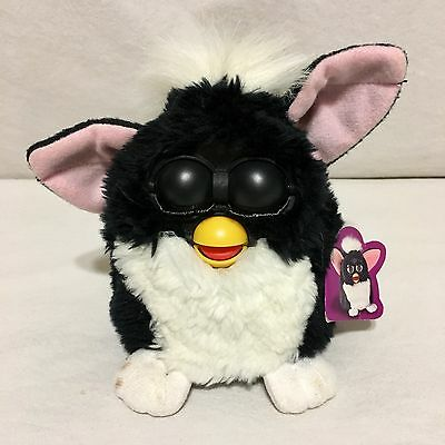 1998 Original Furby Black And White Working Vintage