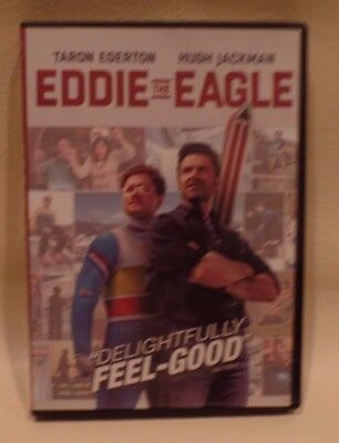 EDDIE THE EAGLE, DVD, TARON EGERTON, HUGH JACKSON, gr
