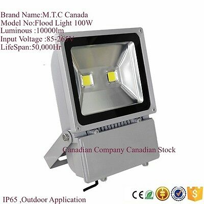 LED Flood Light 100W,10000Lm IP67 Outdoor/Indoor Water Proof 6000K For Sale