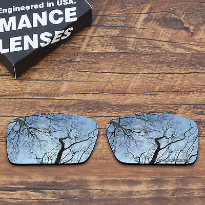 T.A.N Polarized Polycarbonate Replacement Lens for-Oakley Gascan - Silver