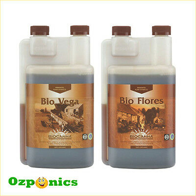 Canna 250Ml Organic Nutrients Bio Vega Bio Flores Hydroponics Kit