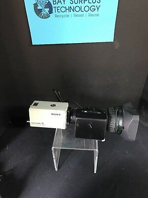 Sony DXC-990 Color 3 CCD Camera ExwaveHAD DSP with fujinon s20x6.4bmd-d18 lens