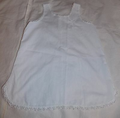 Vintage Tagged Girls Her Majesty Embroidered Slip Petticoat Lace Trim Size 4T
