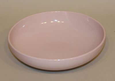 Russel Wright Iroquois China Pink Sherbet 8 Inch Round Vegetable Serving Bowl