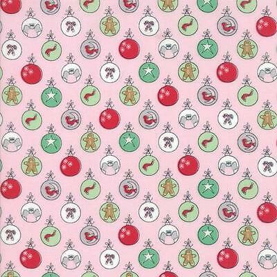 Sugar Plum Pine Trees Light Teal Christmas Quilting Fabric by Yard  #3221