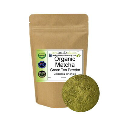 Matcha Organic Powder Premium Japanese Green Tea Latte ~ Vegan - Gf - Sugar Free