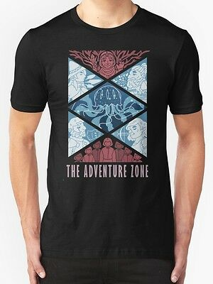 The Adventure Zone Mens Gildan T shirt Size S-2XL