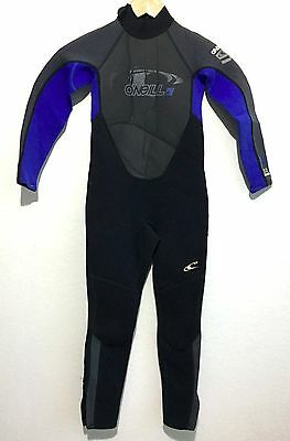 O'Neill Childs Full Wetsuit Reactor 3/2 Kids Youth Juniors Size 8