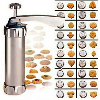 Biscuit Cookie Press Maker Machine Kitchen Baking Cake Pastry Bakeware Mold Tool