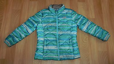 North Face Girls Quilted Puffer Puffy Jacket Down Filled Size 10/12 Kids Medium