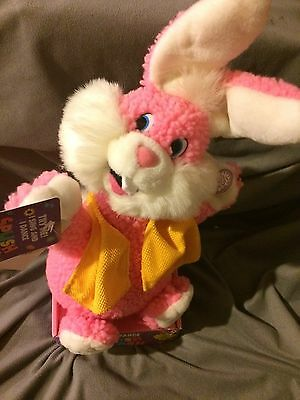 Vintage Sing And Dance Easter Bunny Splish Splash Tested and Works