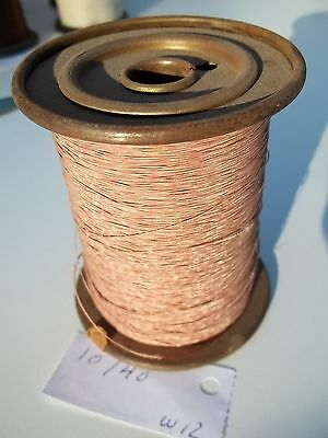 Litz wire 10/40, roll of .475kg, as per picture, NOS (W12)