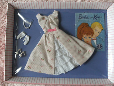 Let's Play Barbie 2012 GARDEN PARTY Fashion Outfit (#931) REPRODUCTION NRFB