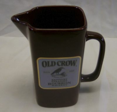 1 of 500 made Old Crow Burgundy Water Pitcher made by Wade of England in 1999