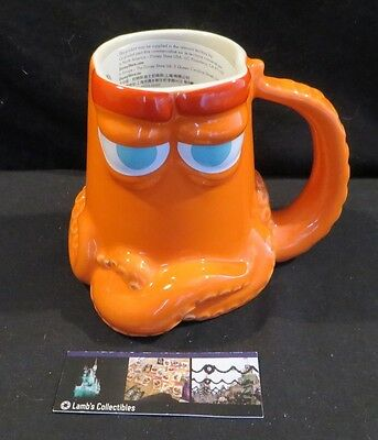 Disney Store Authentic Hank the Octopus 16 oz coffee mug cup Finding Dory